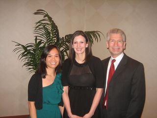 Dr. Nhin(left), Dr. Stull (center), Dr. Fortenbacher (right)